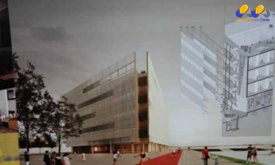 O Instituto de Arquitetos do Brasil e a Fundação Biblioteca Nacional divulgam os vencedores do Concurso Anexo da Biblioteca Nacional. Na foto, o 2º lugar, Helena Aparecida Ayoub Silva – Projeto 128