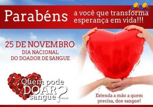 Montes Claros - Hemominas em Montes Claros realiza Semana do Doador de Sangue