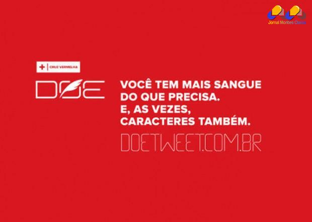 Brasil - No Dia Nacional do Doador de Sangue, Cruz Vermelha lança campanha no Twitter