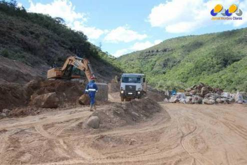 Norte de Minas - Obras são desaceleradas no Projeto Hidroagrícola Jequitaí