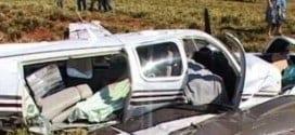 Três pessoas morreram após a queda de um bimotor na tarde desta segunda-feira (10) em Almenara, região do Vale do Jequitinhonha