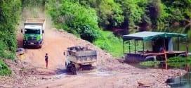 MG - Rio das Velhas se torna alvo de obra e mineração irregulares