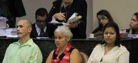 Julgamento na quinta-feira, 13 de novembro, no Fórum de Olinda, PE, do trio acusado de canibalismo. O trio ficou conhecido como