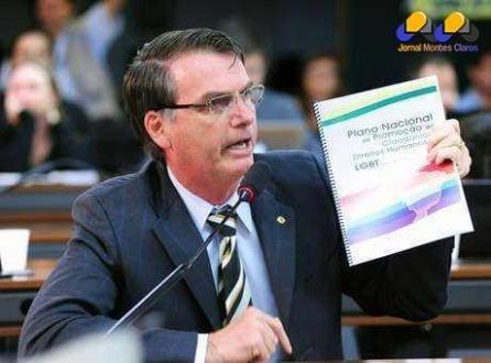 Jair Bolsonaro é deputado federal pelo PP-RJ