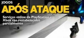 Games - PlayStation e Xbox são restabelecidos parcialmente