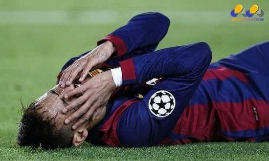 Neymar não tem treinado com o time e não terá condições físicas de enfrentar o Huesca nesta terça-feira