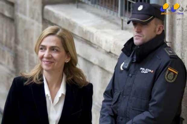Europa - Princesa Cristina da Espanha será julgada por acusação de fraude fiscal