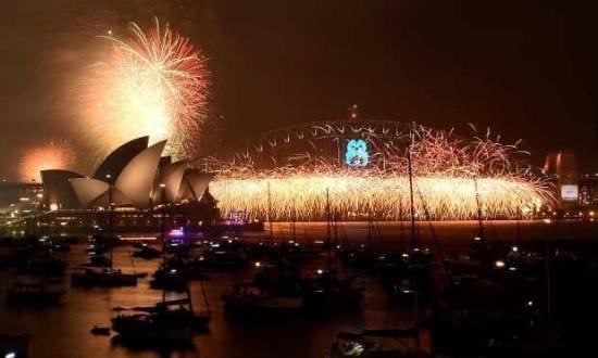 Oceania - Mais de 1,5 milhão de pessoas saudam 2015 na Austrália