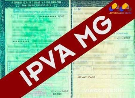 MG - Valor do IPVA 2015 cai 3,73% em Minas
