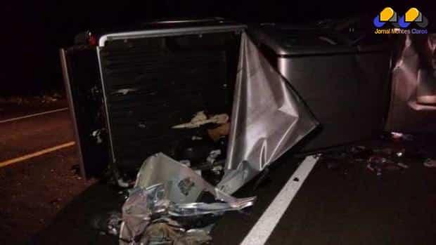 Norte de Minas - Acidente deixa 4 mortos em Bocaiúva