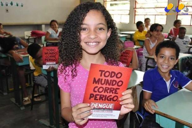 Montes Claros - Semana Municipal de Prevenção à Dengue e à Chikungunya nas escolas