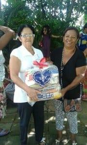 Atendida: Neide Gasparino - Moradora da Comunidade Vila Camilo Prates em Montes Claros.