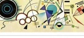 Nascimento de Kandinsky completa 148 anos e ganha Doodle