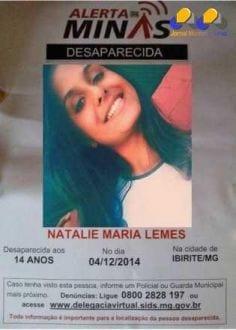 MG - Garota desaparecida estava escondida na casa de amiga