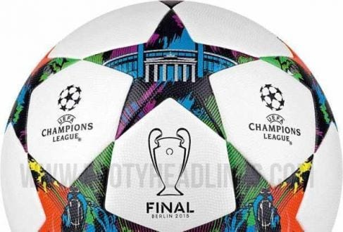 Futebol - Bola da final da UEFA Champions League vaza na internet