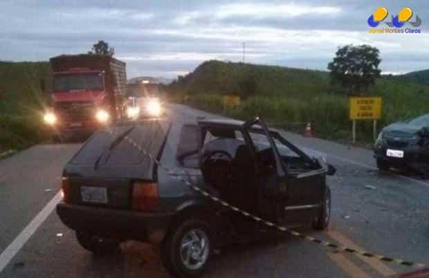 MG - Acidente deixa um morto e quatro feridos em Governador Valadares