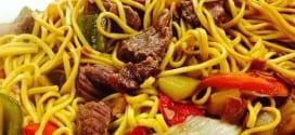 Gastronomia - Receita de Macarrão chinês
