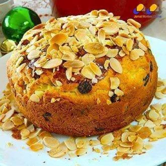 Gastronomia - Receita de Panettone caseiro