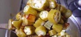 Gastronomia – Os segredos para fazer quiabo sem baba