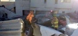 Cerca de 40% da estrutura do hospital foi danificada com explosão.