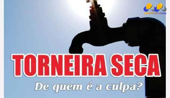 MG – Governador de Minas promete fatura de água salgada para quem gastar em excesso