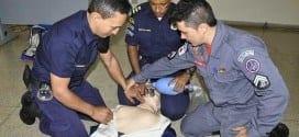 Montes Claros - Guardas Municipais de Montes Claros recebem treinamento de combate a incêndio e primeiros socorros