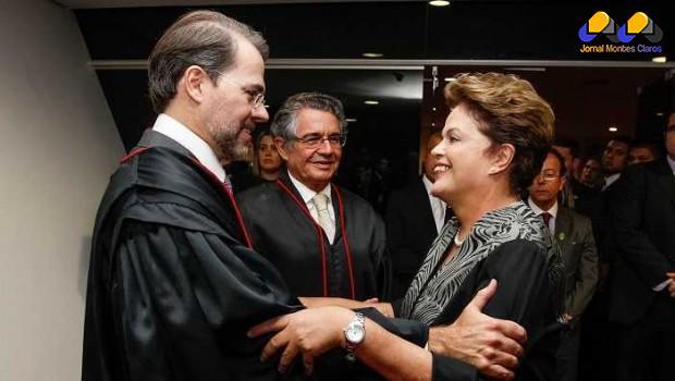 Dilma assina aumento do salário para ministros do STF