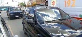Ambulâncias do Samu enfrentam dificuldade de circulação na área urbana de Montes Claros
