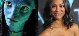 Atriz Zoe Saldana, protagonista de Avatar, anuncia nascimento de gêmeos