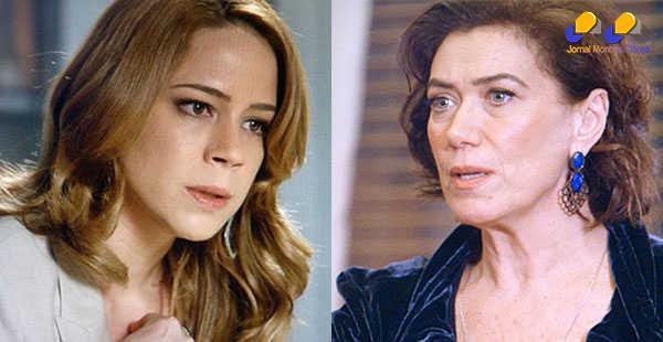 'Império' - Cristina é acusada de roubo e quase apanha de Maria Marta