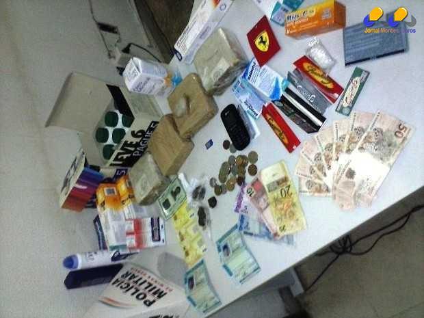 Norte de Minas - Criminoso é preso transportando drogas em carro blindado no Norte de Minas