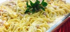 Gastronomia – Receita de Espaguete à Delícia
