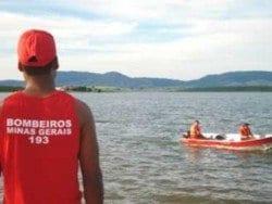 MG - Jovem tenta salvar namorada e se afoga no Rio