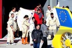 F1 - Fernando Alonso bate forte em Barcelona e é levado a hospital de helicóptero