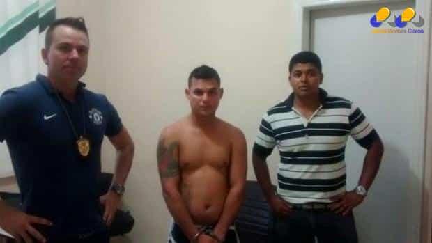 Por volta das 18;48 desta sexta (06), foi preso pelos investigadores Edson Ferreira e Rodney, da delegacia de homicídios, o traficante de alta periculosidade Hugo Ferreira Rafael, de 24 anos, vulgo PitBul
