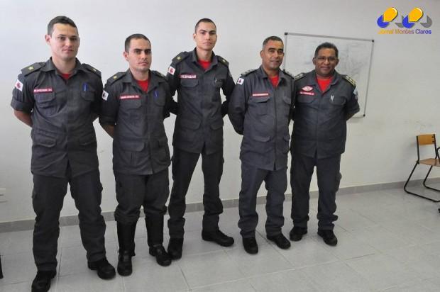 Montes Claros - Montes Claros recebe três novos Aspirantes a oficiais Bombeiros