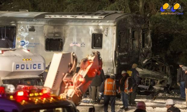 Pelos menos sete pessoas morreram no acidente Foto: Michael Graae/Getty Images North America/AFP