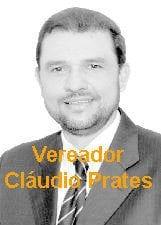 Vereador Cláudio Prates