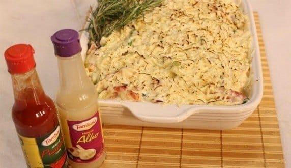 Gastronomia - Receita de Creme de peixe com camarão e molho de pimenta