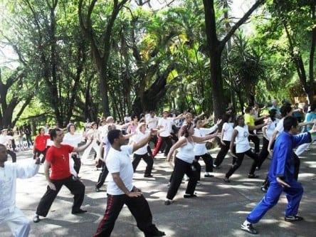 A pratica da atividade fisica na medicina tradicional Chinesa