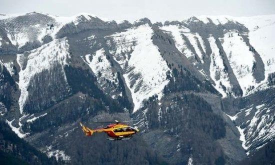 Airbus A320, com 150 pessoas a bordo, caiu nesta terça-feira no sul dos Alpes franceses Foto: AFP