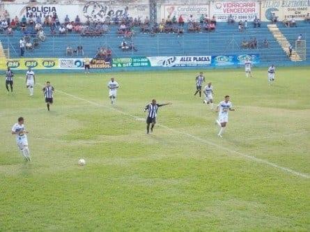 Futebol - Montes Claros F. C. perde em casa e fica com a classificação distante