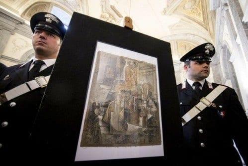 Europa - Polícia italiana apreende quadro de Picasso avaliado em 15 milhões de euros