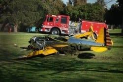 Harrison Ford fica gravemente ferido em acidente de avião