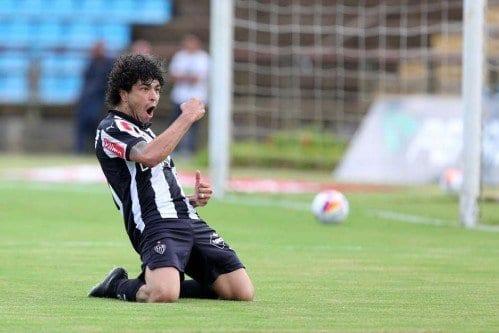 Luan abriu e fechou o placar para o Atlético-MG