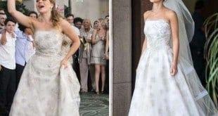 Cristina levou o noivo no final das contas; Clara ficou a ver navios Foto: TV Globo / Divulgação