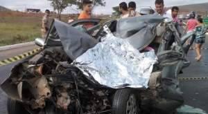 Motorista morre em acidente na BR-251, em Salinas, Norte de Minas Gerais