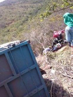 Norte de Minas - Grave acidente deixa 10 feridos em Francisco Sá