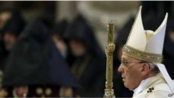 O Papa lembrou também outros genocídios recentes.