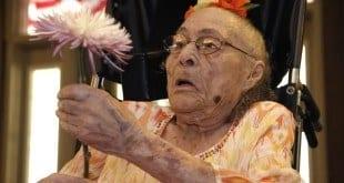 Gertrude Weaver, que completaria 117 anos em 4 de julho, morreu vítima das complicações provocadas por uma pneumonia em um asilo do estado de Arkansas